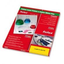 Film antistrappo Folex Longlife Pro Matt WO poliestere bianco opaco 0,115 mm A3 Conf. 50 pezzi - 29738.115.43100
