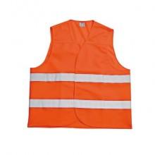 Gilet catarifrangente Iternet poliestere 125 gr/mq arancio S31221