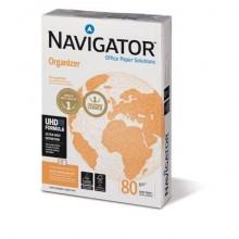 Carta A4 per archiviazione Navigator Organizer 4 fori Risma da 500 fogli - NOR0800162 (Conf.5)