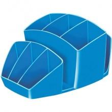 Portaoggetti CEP Gloss blu oceano 14.3 x 15.8 H 9.3 cm 1005800351