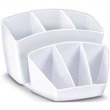 Portaoggetti CEP Gloss bianco artico 14.3 x 15.8 H 9.3 cm 1005800021