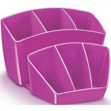 Portaoggetti CEP Gloss rosa 14.3 x 15.8 H 9.3 cm 1005800371