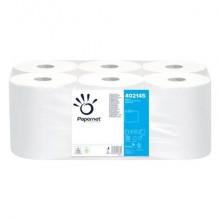 Asciugamani in Rotolo senza pretaglio Papernet 19,8 cm x 124 mt Conf. 6 pezzi - 402145