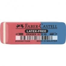 Gomma Faber-Castell 7070-40 rosso/blu dimensioni 50x18x8 mm 187040