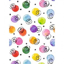 Carta da regalo Kartos Everyday 70x100 cm mod. Smile e Bolle Conf. 10 fogli - 18868200B10