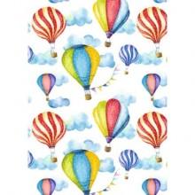 Carta da regalo Kartos Everyday 70x100 cm mod. Mongolfiere Conf. 10 fogli - 18867000B10
