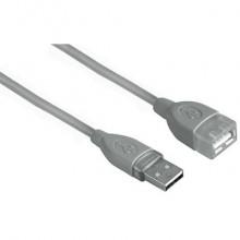 Cavo prolunga HAMA USB A 2.0/USB A 2.0 F grigio 1,8 m 7645027