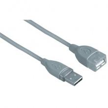Cavo prolunga HAMA USB A 2.0/USB A 2.0 F grigio 3 m 7645040