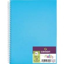 Quaderno a spirale Canson A4 - 50 fogli assortiti C200003028