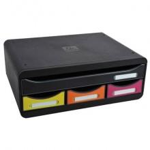 Cassettiera 4 cassetti Toolbox Mini arlecchino 35,5x27xx13,5cm 319798D