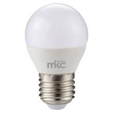 Lampadina MKC Minisfera LED E27 430 lumen bianco caldo 499048009