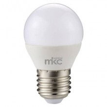 Lampadina MKC Minisfera LED E27 440 lumen bianco naturale 499048010