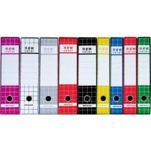 Registratore protocollo BREFIOCART New Color Mignon 35x28,5 cm dorso 5 cm con custodia bianco 0201183.BI