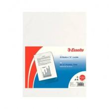 Buste a U ESSELTE Deluxe trasparente 22x30 cm conf. 25 pezzi - 395901200