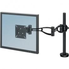 """Braccio Monitor Singolo per regolare monitor LCD/TFT Fellowes nero max 32"""" 8041601"""