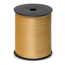 Nastro da regalo in rocchetto Brizzolari 10 mm x 250 mt oro conf. 4 pezzi - 3870.ORO