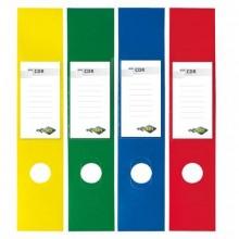 Copridorso autoadesivi Sei Rota CDR 7x34,5 cm rosso Conf. 10 pezzi - 58012532