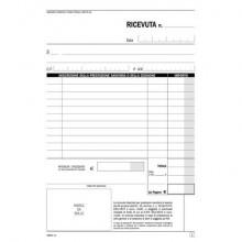 Blocco ricevute sanitarie registro degli onorari Flex 21,5x14,8 cm 50x2 copie autoricalcanti - 165470000