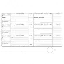 Registro carico-scarico rifiuti per detentori Data Ufficio - 100 copie A4 DU165820000