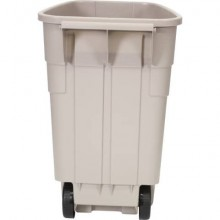 Base Bidone Mobile bin 100 L Rubbermaid beige R002218