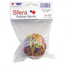 Sfera fascette elastiche VIVA assortiti  conf. 200 pezzi - C202