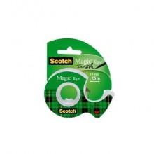 Nastri adesivo trasparente Scotch Magic™ 19 mm x 7,5 m in minichiocciola trasparente 7100086322