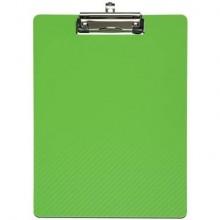 Portablocchi con clip MAULflexx verde chiaro polipropilene flessibile 31,5x22,5 cm - 2361054