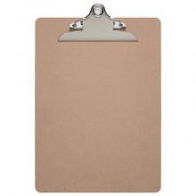Portablocchi con clip MAULclassic A4 in legno di fibra 2392570