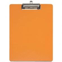 Portablocchi con clip MAULflexx arancione polipropilene flessibile 31,5x22,5 cm - 2361043