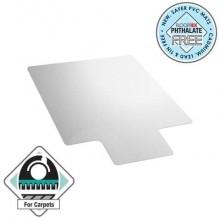 Tappeto protettivo a U Floortex CLEARTEX® ValuMat™ 90x120 cm - moquette trasparente FC119020LV