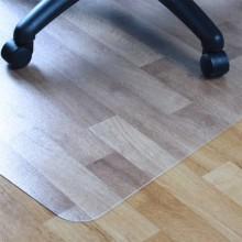 Tappeto protettivo a U Floortex CLEARTEX® AdvantageMat 120x90 cm - pavimenti duri trasparente - FC129225LV