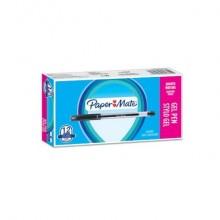 Penne gel con cappuccio Paper Mate PM Jiffy 0,5 mm Nero Conf. 12 pezzi - 2084375