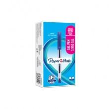 Penne gel con cappuccio Paper Mate PM Jiffy 0,5 mm Blu Conf. 12 pezzi - 2084419