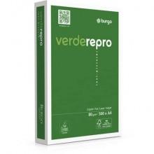 Carta per fotocopie A4 Burgo Repro Verde - High Quality 80 gr bianca Risma 500 fogli (Pallet 240 risme)