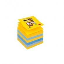 Ricariche di foglietti Post-it® Super Sticky Z-Notes 76x76 mm New York Conf. 6 pezzi - R330-6SS-NY