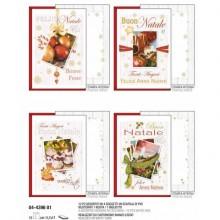"""Biglietti augurali di Natale KARTOS """"Fotografie di Natale"""" Conf. 12 biglietti con busta - 04439601"""