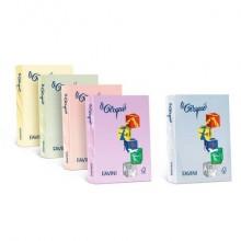 Carta colorata FAVINI LE CIRQUE per tutte le tecnologie di stampa 80 g/m² A4 salmone 103  500 fogli - A715504