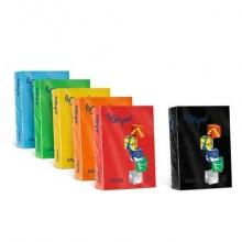Carta colorata FAVINI LE CIRQUE per tutte le tecnologie di stampa 80 g/m² A4 azzurro reale 204  500 fogli - A71G504