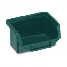 Sistema di contenitori sovrapponibili TERRY Eco Box 110 verde 1000424 (Conf.3)