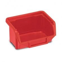 Sistema di contenitori sovrapponibili TERRY Eco Box 110 rosso 1000423 (Conf.3)