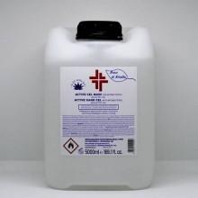 Gel igienizzante mani (alcol 70%) 5.000 ml - Active linea Bosco di Rivalta - trasparente - profumo di agrumi