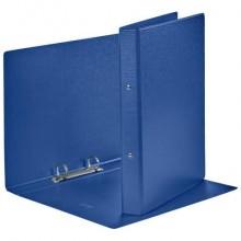 Raccoglitore Esselte DAILY a 2 anelli tondi 25mm robusto cartone rivestito in PP blu A4 dorso 3,5 cm - 394771500