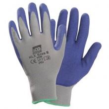 Guanti riusabili in maglia nylon senza cuciture Icoguanti blu/grigio XL NLX/XL