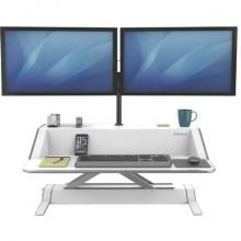 Postazione di lavoro Fellowes Lotus™ Sit-Stand Fellowes - doppio bianco 0009901