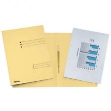 Cartelline ad aghi Esselte Rapid File 29,5x32 cm giallo 621055 (Conf. 25)