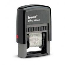 Timbro polinome con 12 diciture commerciali TRODAT PRINTY 4822 - 74051