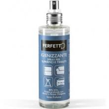 Spray igienizzante per superfici e tessuti Perfetto Alcool 80% - senza profumo - flacone 200 ml - 12830
