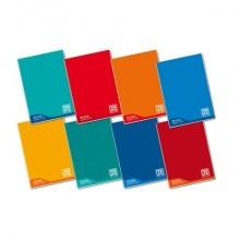 Quaderno Maxi One Color 100 Gr Didattico A4 - quadretti 10 M - colori assortiti - 18+1 fogli - 7044