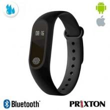 "Braccialetto Smartband Activity Tracker Prixton Bluetooth schermo  0,42"" OLED nero - AT400HR"