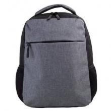 Zaino poliestere 600D Scuba B 31×16×41 cm grigio/nero AP819020